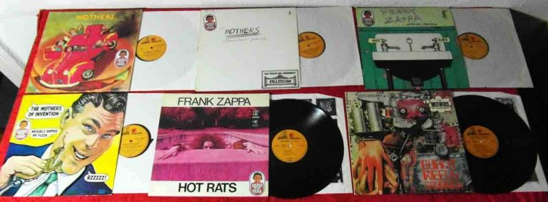 18 Langspielplatten FRANK ZAPPA / MOTHERS OF INVENTION - Reprise / CBS - Vinyl