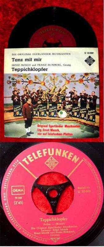 Single Ernst Mosch & Egerländer Musikanten: Tanz mit mir (Telefunken U 55889)