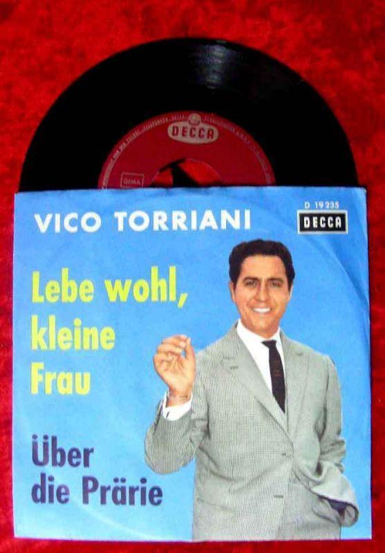 Single Vico Torriani: Lebe wohl, kleine Frau