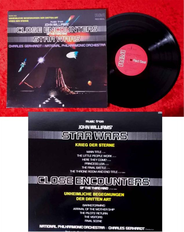 LP Musik aus Unheimliche Begegnung der dritten Art & Krieg der Sterne (RCA) D78