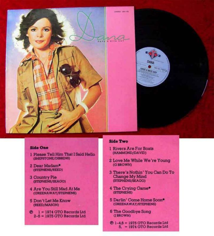 LP Dana: Have a nice day (GTO 2321 105) D 1975