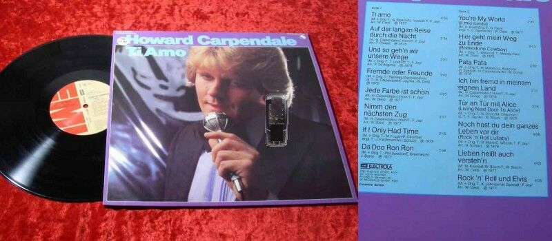 LP Howard Carpendale: Ti Amo (Clubsonderauflage)