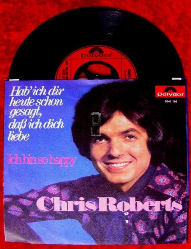Single Chris Roberts Hab ich Dir heute schon gesagt, da