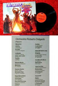 LP Roberto Delgado: Hifi-Stereo Samba Caramba South America Olé (Polydor) D 1970