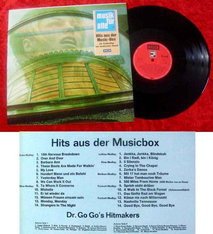 LP Dr. Go Go´s Hitmakers: Hits aus der Musicbox