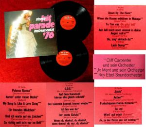 2LP Cliff Carpenter Jo Ment Roy Etzel: Stereo Hitparade Instrumental ´76