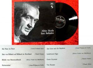 LP Albin Skoda liest Balladen (Elite Special SOLP 33-220) CH