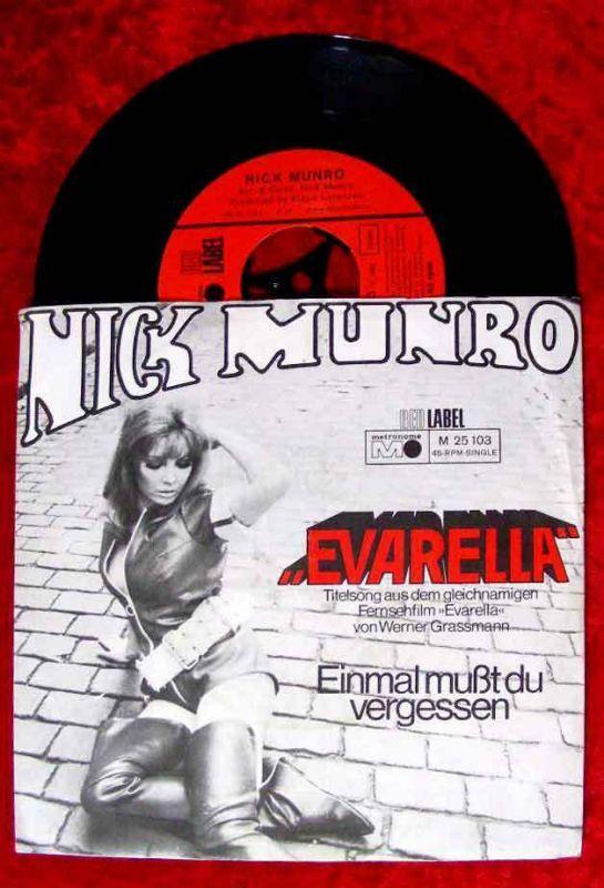 Single Nick Munro: Evarella (aus dem gl. TV-Film) Metronome M 25 103 D 68