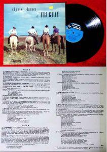 LP Chants et Danses de L´Uruguay (Visages du Monde 6376 D Std) F