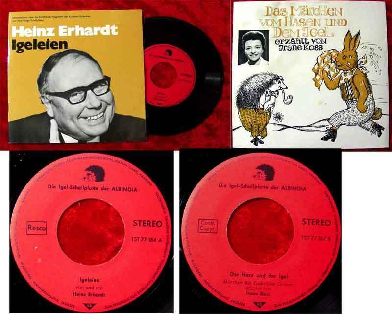 Single Heinz Erhardt: Igeleien
