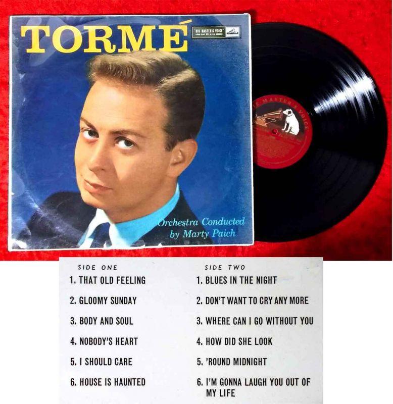 LP Mel Torme: Tormé (HMV CLP 1238) UK 1959