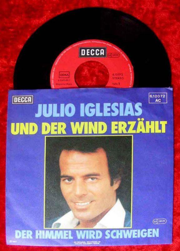 Single Julio Iglesias: Und der Wind erzählt