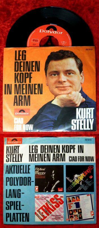 Single Kurt Stelly: Leg Deinen Kopf in meinen Arm (Polydor 52 510) D 1965