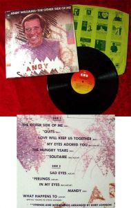 LP Andy Williams: The other Side of me (CBS) NL 1975