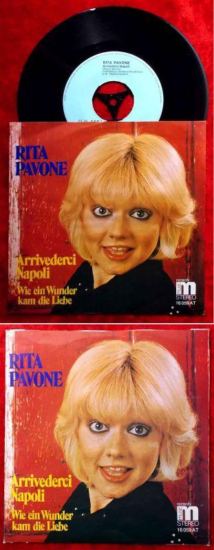 Single Rita Pavone: Arrivederci Napoli (M 16 059 AT) D 1973