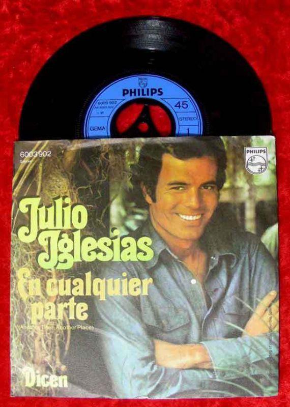 Single Julio Iglesias: En Cualquier Parte