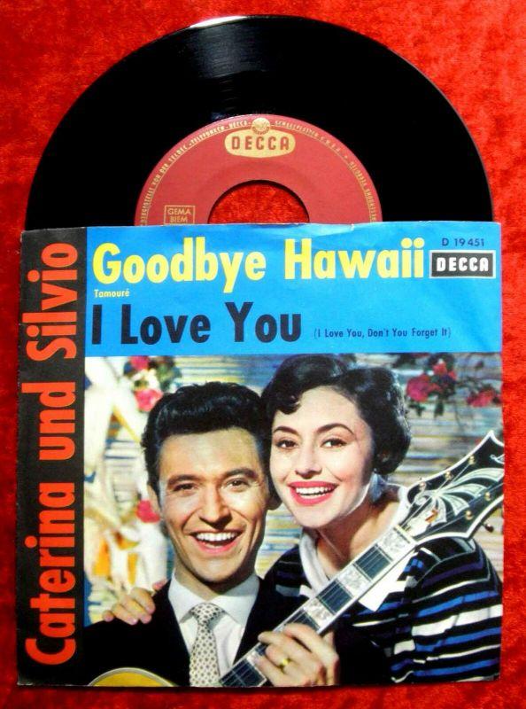 Single Caterina Valente & Silvio Francesco: I Love you (Decca D 19 451) D