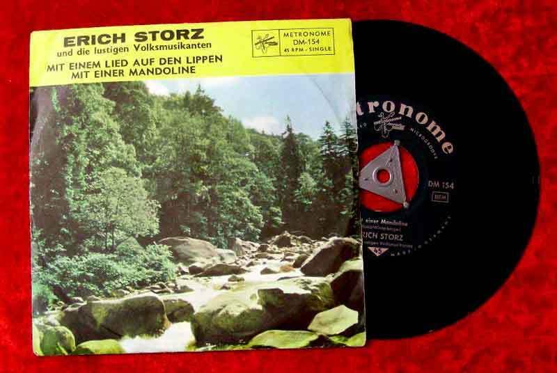 Single Erich Storz: Mit einem Lied auf den Lippen