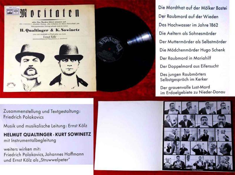 LP Helmut Qualtinger & Kurt Sowinetz: Moritaten (Unikum 305) A 1964