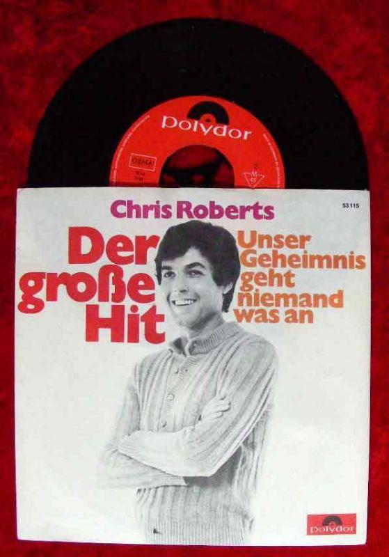 Single Chris Roberts: Der große Hit (Polydor 53 115) D 1969