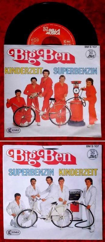 Single Big Ben: Superbenzin (Bella Musica BM S 107) D
