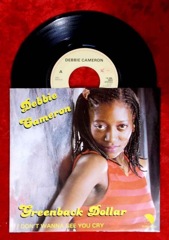 Single Debbie Cameron: Greenback Dollar (EMI 1A 006-39443) NL