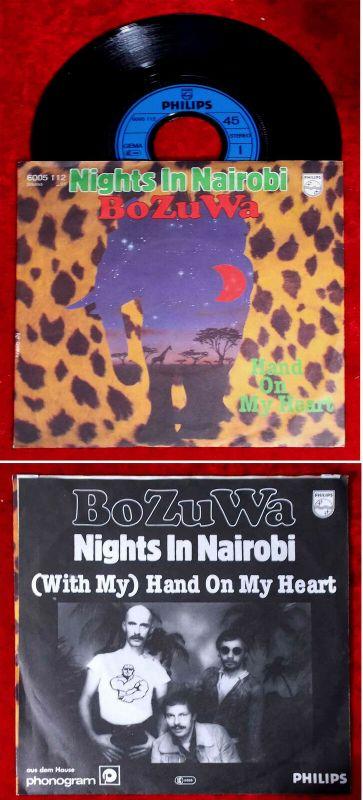 Single BoZuWa: Nights in Nairobi (Philips 6005 112) D 1981