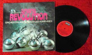 LP Orchestra & Chorus Les Humphries: Singing Revolution (Signed/ Autogramm) D 71