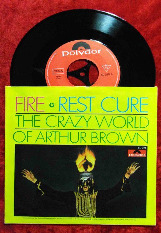 Single Crazy World of Arthur Brown: Fire (Polydor 59 215) D