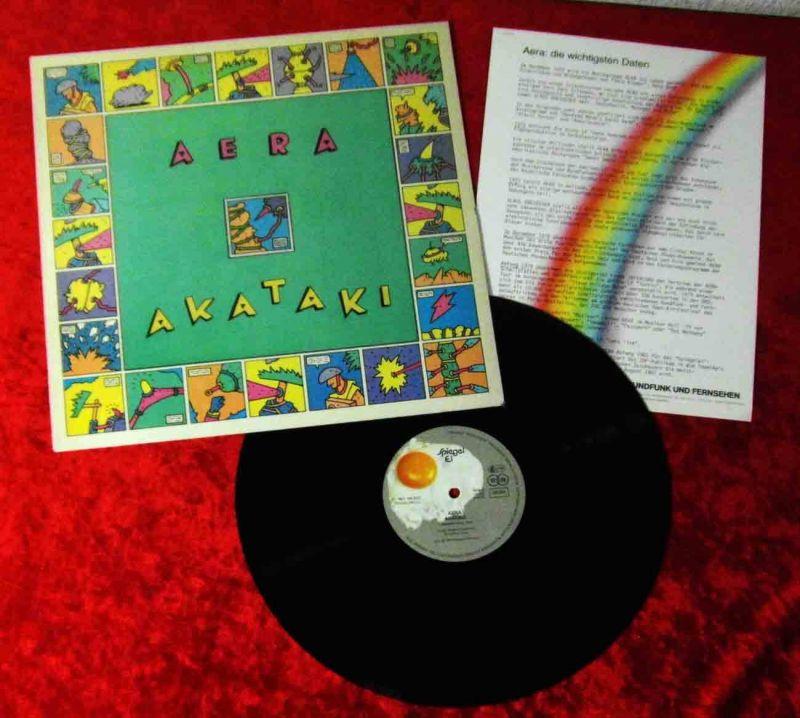LP Aera: Akataki (Spiegelei INT 145 633) w/ PR Facts D 1982