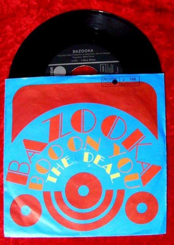 Single Bazooka Boo on you The Deal 1969 0