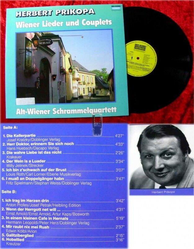 LP Herbert Prikopa: Wiener Lieder und Couplets 0
