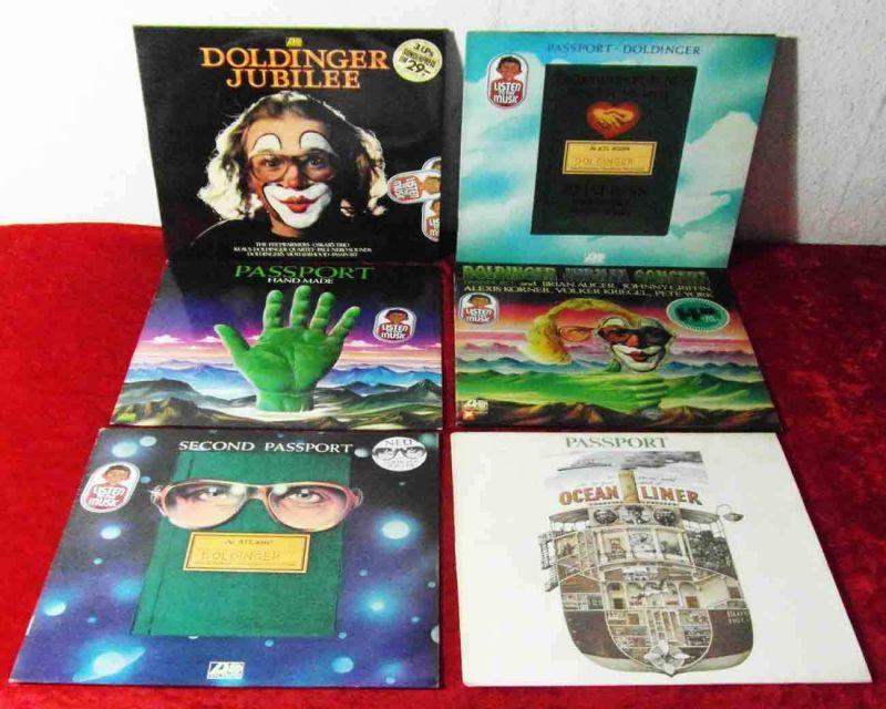 8 Langspielplatten  von PASSPORT - Vinylsammlung -