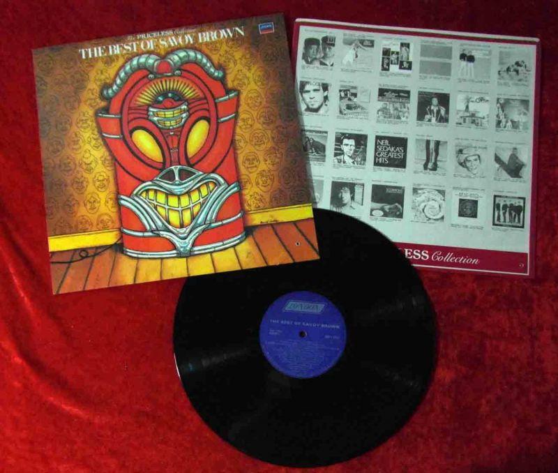 LP Savoy Brown: The Best of Savoy Brown (London MIP 1-9377) Canada 1984