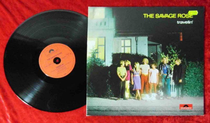 LP Savage Rose: Travellin´ (Polydor 1184 316) D 1982