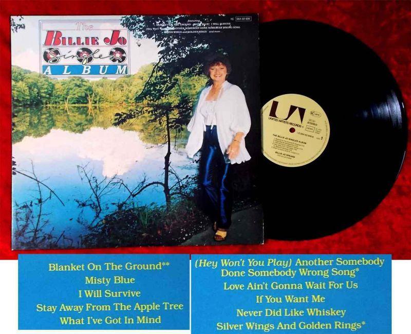 LP Billie Jo Spears: Singles Album (United Artists 1C 064-82 806) D 1979