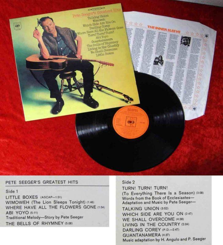 LP Pete Seeger: Seeger´s Greatest Hits (CBS S 63 008) D