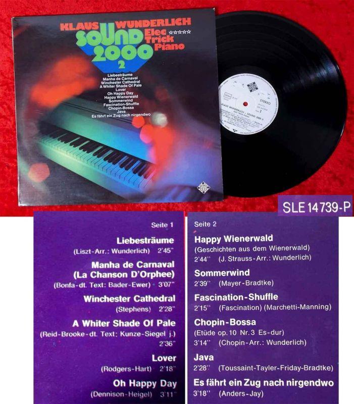 LP Klaus Wunderlich: Sound 2000/2 (Telefunken SLE 14 739-P) D 1973 Promo
