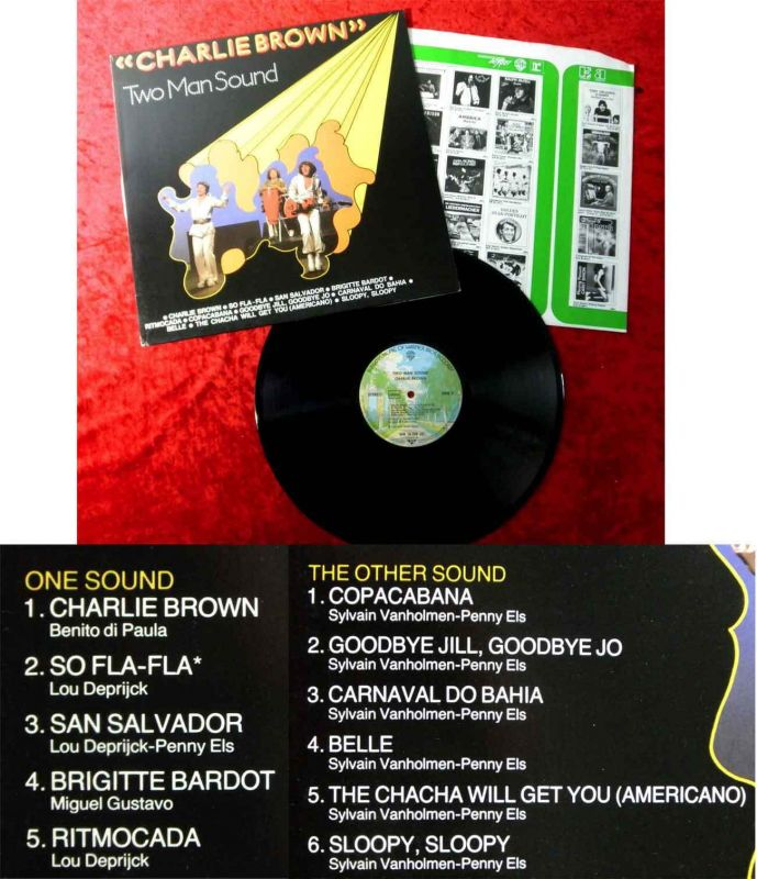 LP Two Man Sound: Charlie Brown (Warner Bros. WB 56 228) D 1976
