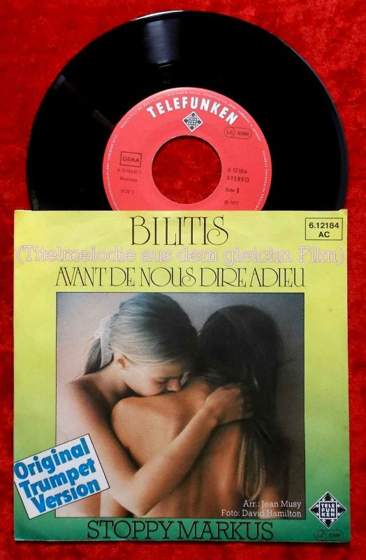 Single Stoppy Markus: Bilitis (Telefunken 612184 AC) D 1977