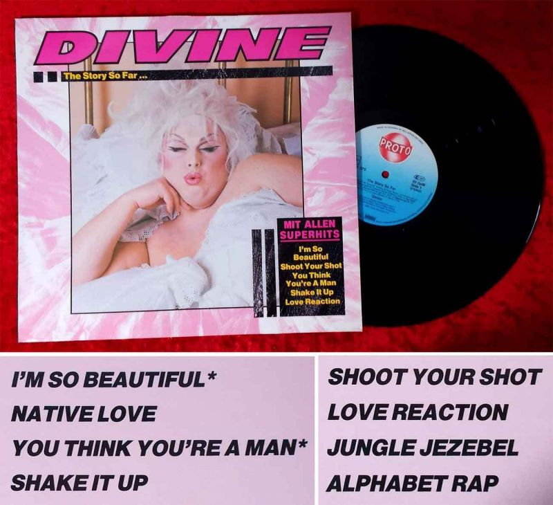 LP Divine: The Story So Far... (Bellaphon Proto 260-07-075) D 1984