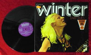 LP Johnny Winter: Early Times (Bellaphon BLPS 19023) D 1974