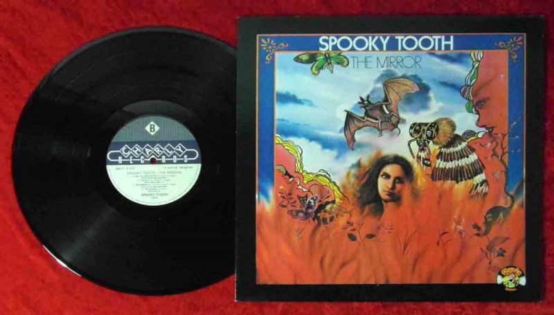 LP Spooky Tooth: The Mirror (Charly CR 30167) UK 1979