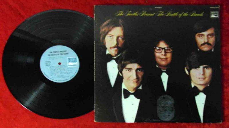 LP Turtles: Present The Battle of the Bands  (White Whale WWS-7118) US