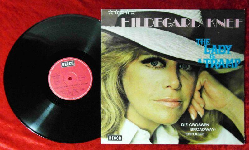 LP Hildegard Knef: The Lady Is A Tramp - Die großen Broadway Erfolge (Decca) D