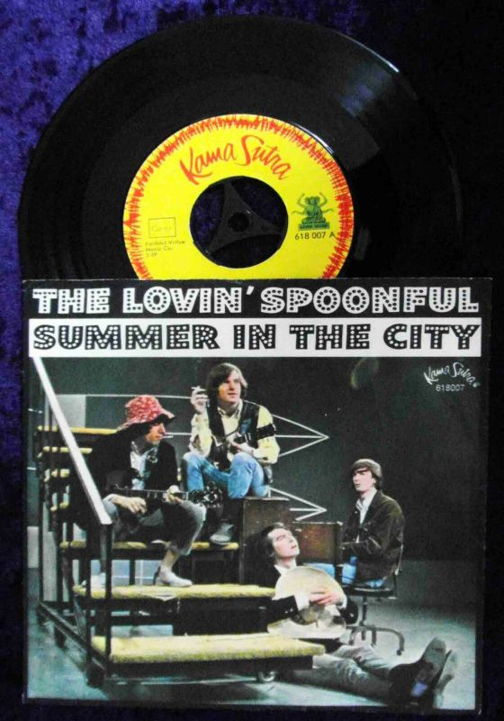 Single Lovin´ Spoonful: Summer in the City (Kama Sutra 618 007) D 1966