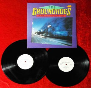 2LP Groundhogs: Moving Fast - Standing Still (Castle RAWLP021) UK 1986