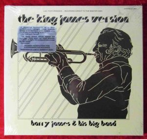 LP Harry James:King James Version (Sheffield Lab 3)  Still Sealed