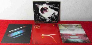 5 Langspielplatten  von TANGERINE DREAM - Vinylsammlung -
