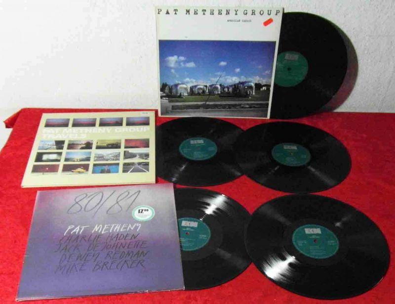 5 Langspielplatten PAT METHENY  - Vinylsammlung -